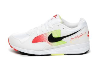 Nike Air Skylon II (White / Black - Volt - Habanero Red)
