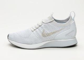 Nike Air Zoom Mariah Flyknit Racer (Pure Platinum / Dark Grey - Light