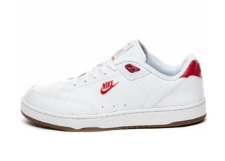 Nike Grandstand II Premium (White / University Red - Gum Med Brown - B
