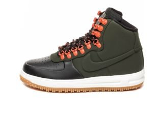 Nike Lunar Force 1 Duckboot '18 (Black / Sequoia - Sail - Gum Light B