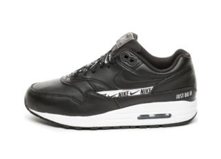 Nike Wmns Air Max 1 SE (Black / Black - White)