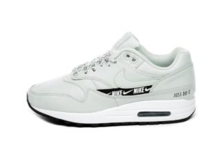 Nike Wmns Air Max 1 SE (Light Silver / Light Silver - Black - White)