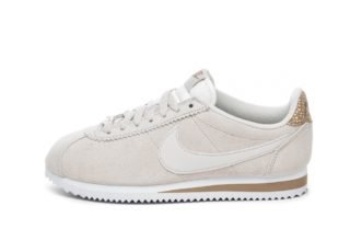 Nike Wmns Classic Cortez (Light Bone / Light Bone - Canteen - White)