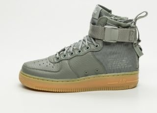 Nike Wmns SF Air Force 1 Mid (Dark Stucco / Dark Stucco - Gum Light Br