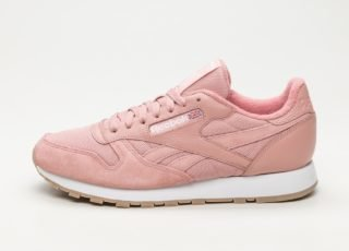 Reebok Classic Leather ESTL (Chalk Pink / White)