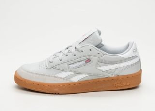 Reebok Revenge Plus Gum (Skull Grey / White)
