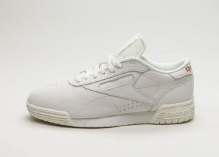 Reebok Exofit Lo Clean FBT Suede (White / Rose Gold)