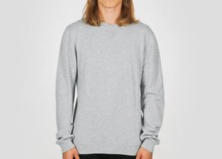 Saturdays NYC Everyday Classic Sweater (Ash Heather)