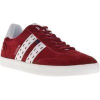 Quick Sneakers suede rood
