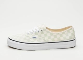 Vans Authentic *Checkerboard* (Ambrosia / Classic White)