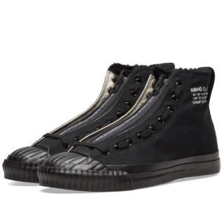 Neighborhood G.R Hi Sneaker (Black)