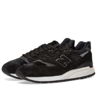 New Balance M998TCB Pony Hair - Made in the USA (Black)