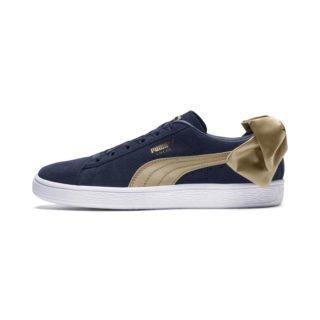 PUMA Suede Bow Varsity sneakers (Blauw/Goud)