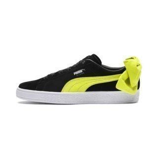PUMA Suede Bow Block sportschoenen (Zwart)