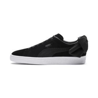 PUMA Suede Bow Uprising sneakers (Wit/Zwart)