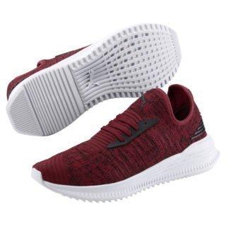 PUMA AVID evoKNIT Mosaic Evolution sneakers (Zwart/Rood)