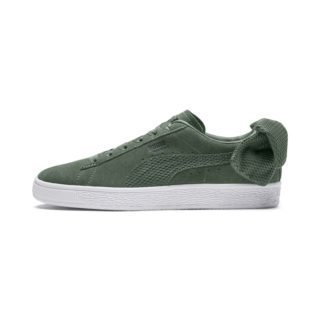 PUMA Suede Bow Uprising sneakers (Groen/Wit)