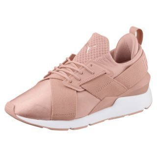 PUMA En Pointe Muse Satin sneakers (Beige/Roze/Wit)