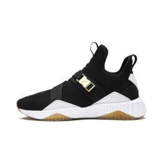 PUMA Defy Varsity Mid sneakers (Goud/Zwart)