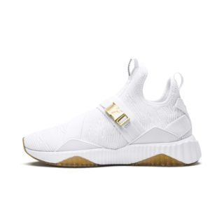 PUMA Defy Varsity Mid sneakers (Goud/Wit)