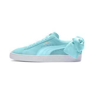 PUMA Suede Bow sneakers (Blauw)