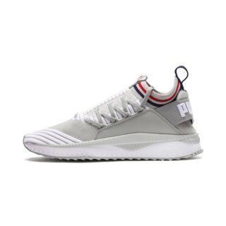 PUMA Evolution TSUGI Jun Sport Stripes sneakers (Blauw/Grijs/Rood)