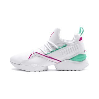 PUMA Evolution Muse Maia Street 1 sneakers (Wit/Roze)