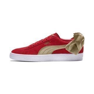 PUMA Suede Bow Varsity sneakers (Rood/Goud)