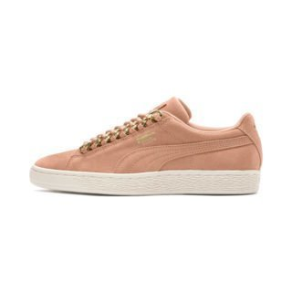 PUMA Suede Classic Chains sneakers (Roze/Goud)