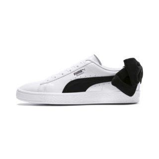 PUMA Basket Suede Bow sneakers (Wit/Zwart)