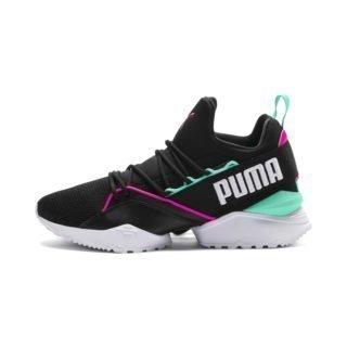 PUMA Evolution Muse Maia Street 1 sneakers (Zwart/Roze)