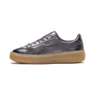 PUMA Basket Platform Luxe sneakers (Grijs)