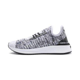 PUMA AVID evoKNIT Mosaic Evolution sneakers (Blauw/Zwart/Wit)