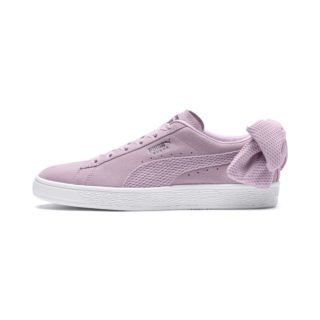 PUMA Suede Bow Uprising sneakers (Roze/Wit)