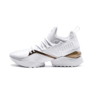 PUMA Muse Maia Luxe sneakers (Wit)