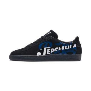 PUMA PUMA x PEPSI MAX Suede Classic sneakers (Zilver/Zwart)