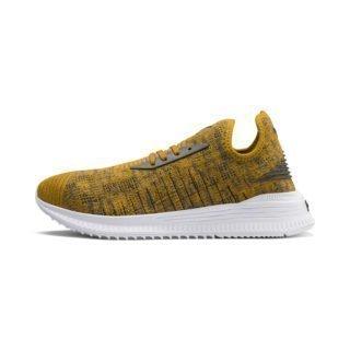 PUMA AVID evoKNIT Mosaic Evolution sneakers (Zwart/Grijs/Bruin)