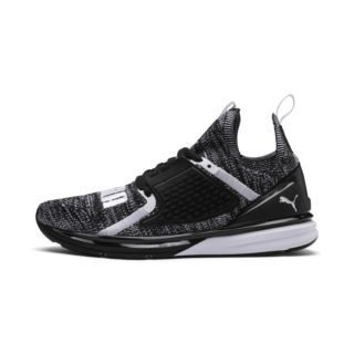 PUMA Ignite Limitless 2 evoKNIT sportschoenen (Wit/Zwart)