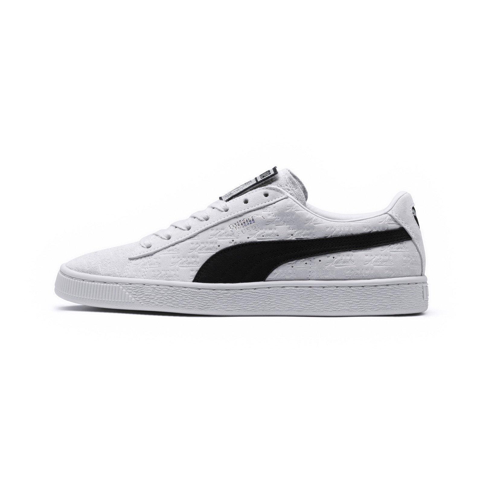 24c49f5cac8 PUMA PUMA x PANINI Suede Classic sneakers (Wit/Zwart) | 366323-01 | Puma