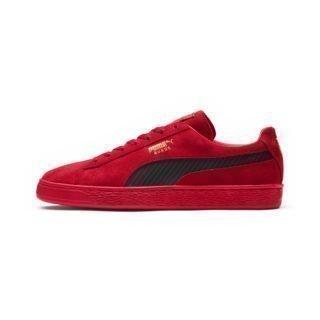 PUMA Puma x Ferrari Classic Suede Sneakers (Rood)