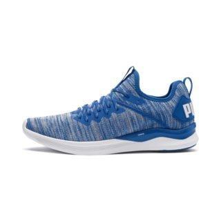 PUMA IGNITE Flash evoKNIT sportschoenen (Blauw/Wit)