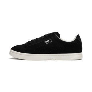 PUMA Court Star Suede Interest sportschoenen (Wit/Zwart)