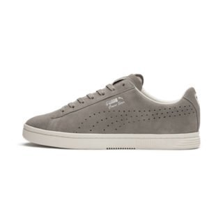 PUMA Court Star Suede Interest sportschoenen (Grijs/Wit)
