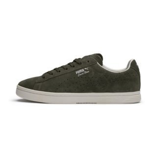 PUMA Court Star Suede Interest sportschoenen (Groen/Wit)