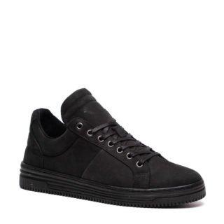 TwoDay leren sneakers zwart (heren) (zwart)
