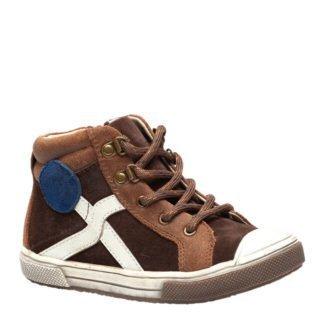TwoDay suède sneakers bruin jongens (bruin)