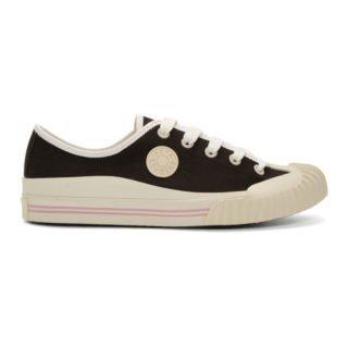 Acne Studios Black Bla Konst Tennis Sneakers