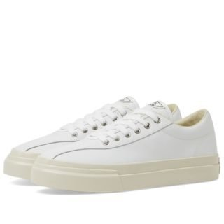 Stepney Workers Club Dellow Leather Sneaker (White)