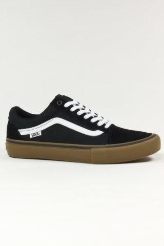 Vans Old Skool Pro - Black White Gum