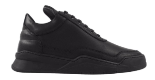 Filling Pieces Low Top Ghost Basic Zwart